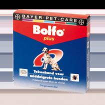 Bolfo tekenband middelgrote hond