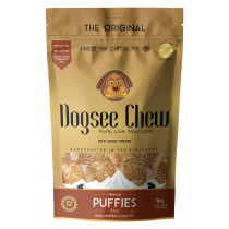 Dogsee chew puffies variaties