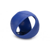 Fetch rubber frisbee bal blauw