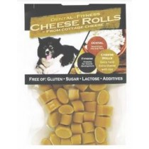 QChefs dental fitness cheese rolls