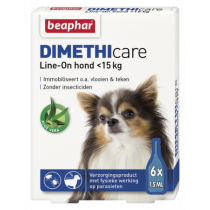 Beaphar dimethicare line-on hond 6 pipet