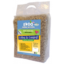 Ekoo animal bedding Cotton en Comfort 140 liter