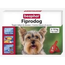Beaphar fiprodog 2-10kg 3 pipetten