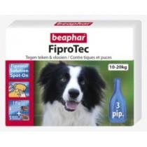 Beaphar fiprodog 10-20kg 3 pipetten
