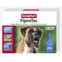 Beaphar fiprodog 20-40kg 3 pipetten