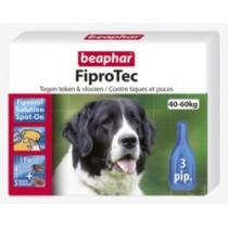 Beaphar fiprodog 40-60kg 3 pipetten