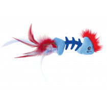 Petstages kat feather fish bone