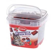 Sanal snack kat cranberry bites cup 75 gram